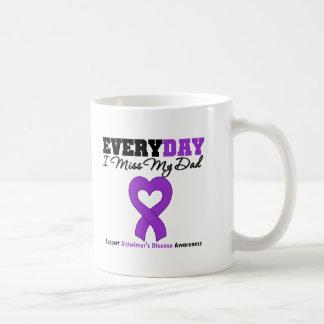 Alzheimer's Disease Every Day I Miss My Dad Classic White Coffee Mug