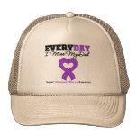 Alzheimer's Disease Every Day I Miss My Dad Trucker Hat