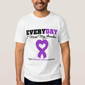 Alzheimer's Disease Every Day I Miss My Grandma T Shirt