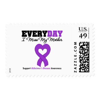 Alzheimer's Disease Every Day I Miss My Mother Postage