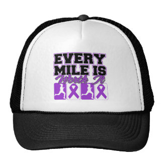 Alzheimer's Disease Every Mile is Worth It Mesh Hat