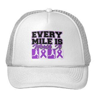 Alzheimer's Disease Every Mile is Worth It Trucker Hats