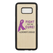 Alzheimer's Disease Fight for the Cure! Carved Samsung Galaxy S8 Case