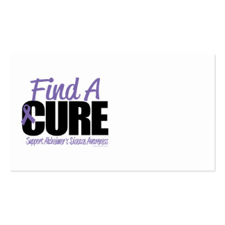Alzheimer's Disease Find A Cure Business Cards