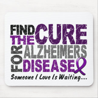 ALZHEIMERS DISEASE Find The Cure 1 Mouse Pad