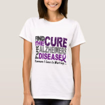 ALZHEIMERS DISEASE Find The Cure 1 T-Shirt