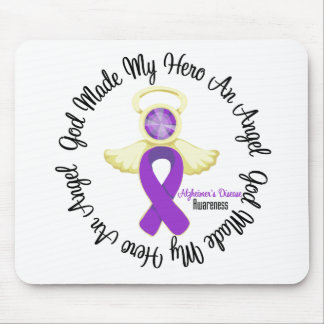 Alzheimers Disease God Made My Hero An Angel Mouse Pad