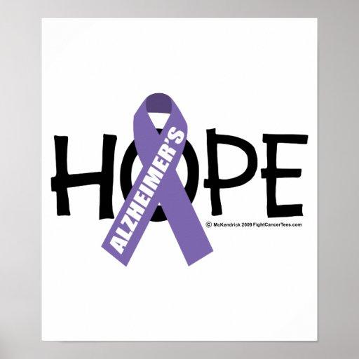 Alzheimer's Disease Hope Poster