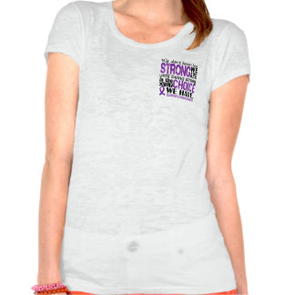 Alzheimer's Disease How Strong We Are Tee Shirt