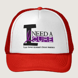 Alzheimer's Disease I NEED A CURE 1 Trucker Hat