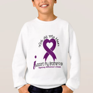 Alzheimers Disease I Support My Brother-In-Law Sweatshirt