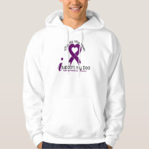 Alzheimers Disease I Support My Dad Hoodie