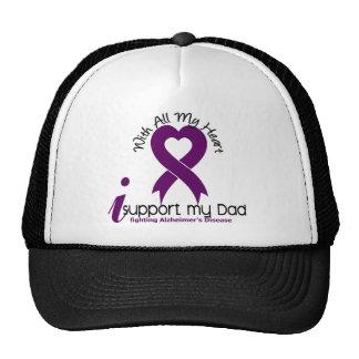 Alzheimers Disease I Support My Dad Trucker Hat