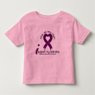 Alzheimers Disease I Support My Grandma Toddler T-shirt