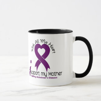 Alzheimers Disease I Support My Mother Mug