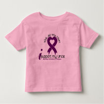 Alzheimers Disease I Support My Uncle Toddler T-shirt