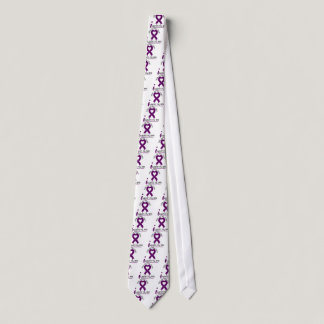 Alzheimers Disease I Support My Wife Tie
