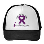 Alzheimers Disease I Support My Wife Trucker Hat