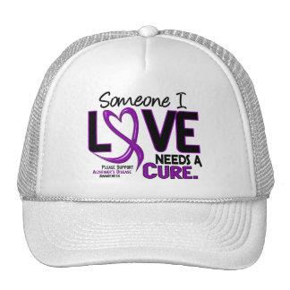Alzheimer's Disease NEEDS A CURE 2 Hats
