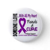 Alzheimers Disease Needs A Cure 3 Button