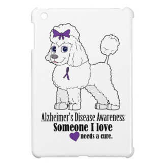 Alzheimer's Disease Poodle with Ribbon Cover For The iPad Mini