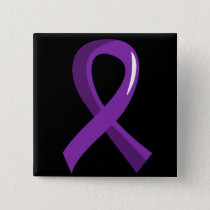 Alzheimer's Disease Purple Ribbon 3 Button