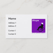 Alzheimer's Disease Research Business Cards