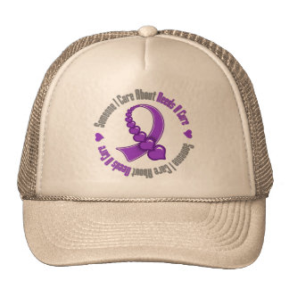 Alzheimers Disease Someone I Care Needs A Cure Hat