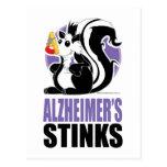 Alzheimer's Disease Stinks Post Card