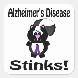 Alzheimers Disease Stinks Skunk Awareness Sticker