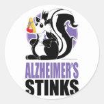 Alzheimer's Disease Stinks Stickers