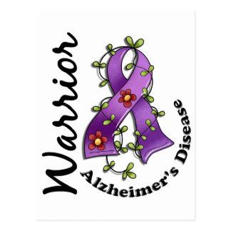 Alzheimer's Disease Warrior 15 Postcard