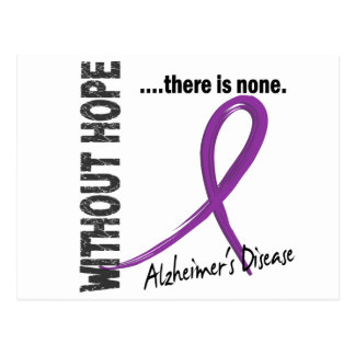 Alzheimers Disease Without Hope 1 Postcard