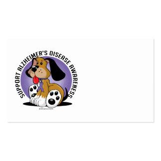 Alzheimers Dog Business Card Template