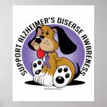 Alzheimers Dog Poster