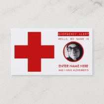 alzheimers emergency contact card