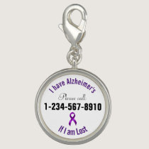 Alzheimers Emergency Contact Charms