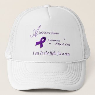 Alzheimer's Fight for a cure hat