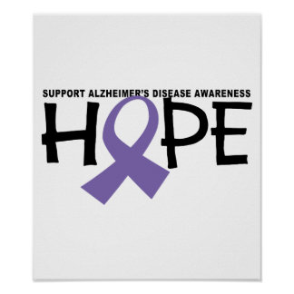Alzheimers Hope Poster