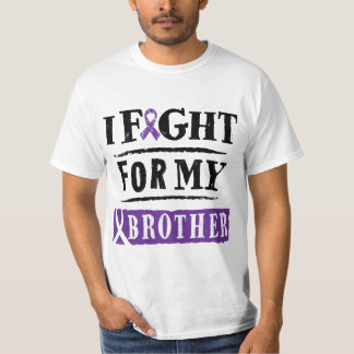 Alzheimer's I Fight For My Brother T-shirt