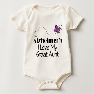 Alzheimers I Love My Great Aunt Baby Bodysuit