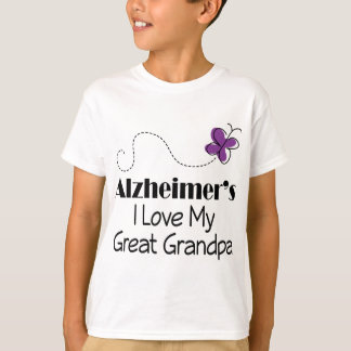 Alzheimers I Love My Great Grandpa T-Shirt