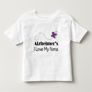 Alzheimers I Love My Nona Toddler T-shirt