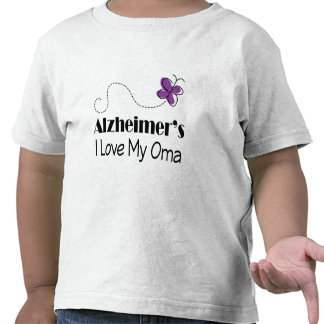 Alzheimers I Love My Oma T Shirt