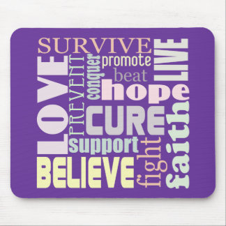 Alzheimer's Inspirational Words Mouse Pad