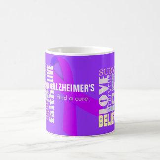Alzheimer's Inspirational Words Mug
