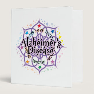 Alzheimers Lotus 3 Ring Binder