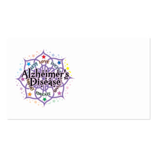 Alzheimers Lotus Business Card Template