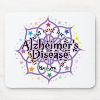 Alzheimers Lotus Mouse Pad