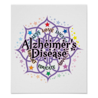 Alzheimers Lotus Poster